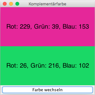 Komplementärfarbe Zu Grün javabeginners komplementaerfarben