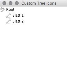 Dateibaum mit eigenen Icons